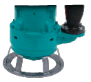 submersible submersible slurry pump end