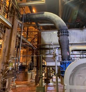 potash rubber hose install